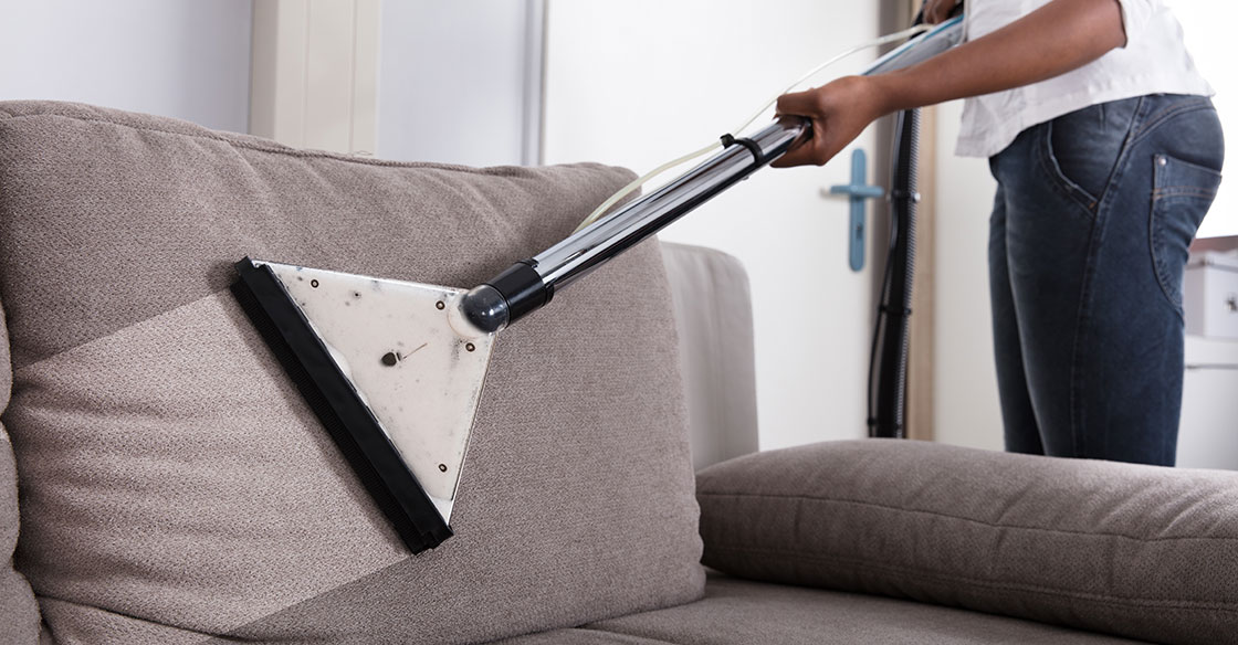 Couch With Upholstery Cleaning Services